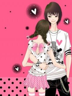Gambar Kartun Jepang Romantis  Ikonyo Dot Com
