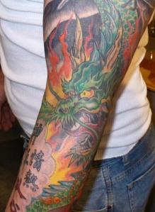 Dragon-Full-Arm-Tattoos-for-Men