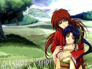 gambar-animasi-kartun-jepang-romantis-kenshin