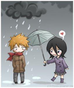gambar-kartun-romantis-jepang-hujan