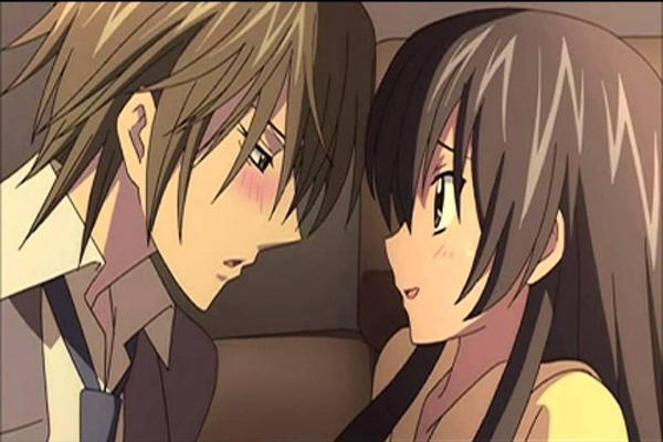 640 Gambar Kartun Cinta Romantis Jepang Gratis
