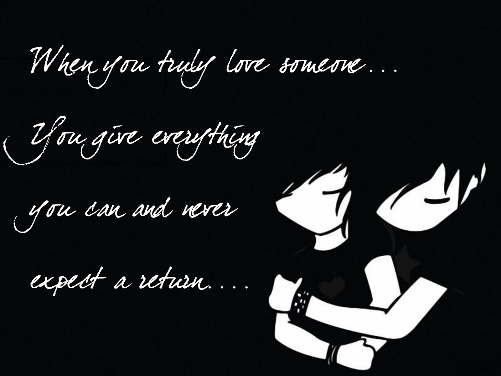 emo love wallpapers with quotes
